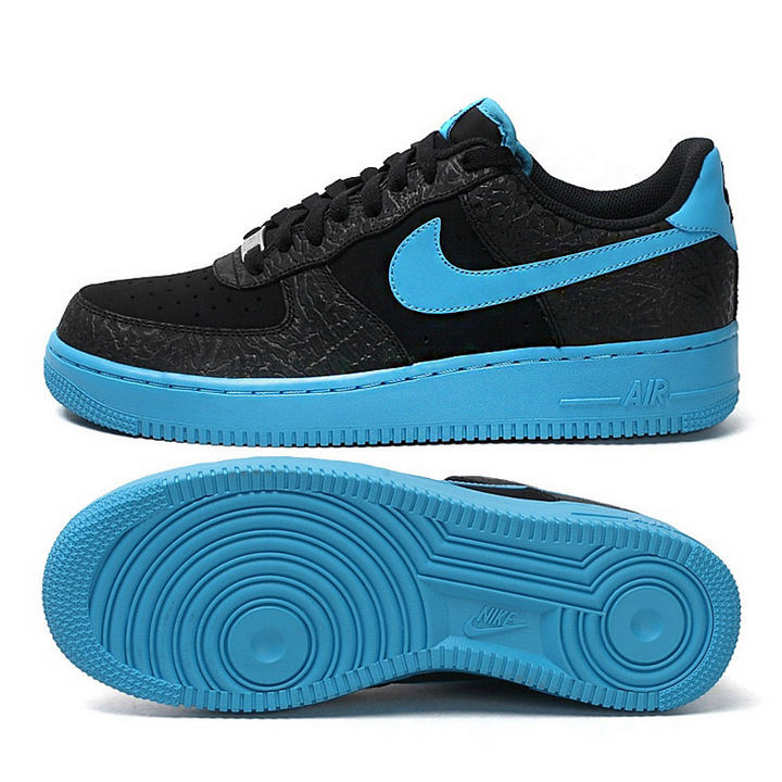 Nike Air Force 1 Low Black Red Sneaker